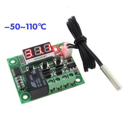 -50-110°C W1209 Digital Thermostat Temperature Control Switch 12V Sensor CT