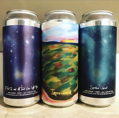 Tree House Brewing Craft Beer Stout Cans (Trillium Monkish)