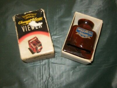 Vintage Imperial Chromat-O-Scope Slide and Strip Film Viewer with Original Box