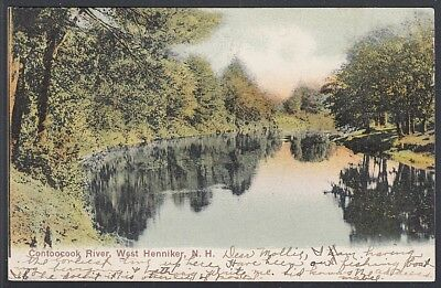 Contoocook River, West Henniker, NH 1907 North Weare, NH (DPO) to Brownfield, ME