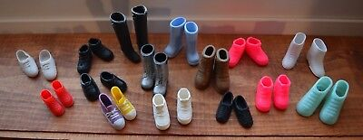 Barbie and Ken shoes & boots lot of 15 (1 from Hong Kong)