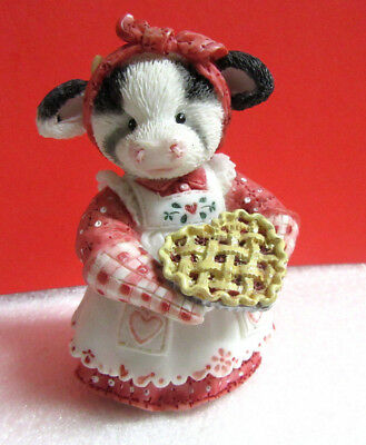 Mary's Moo Moos YOU'RE MY SWEETIE PIE Cow Figurine