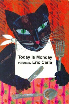 Today is Monday by Carle, Eric Book The Cheap Fast Free Post