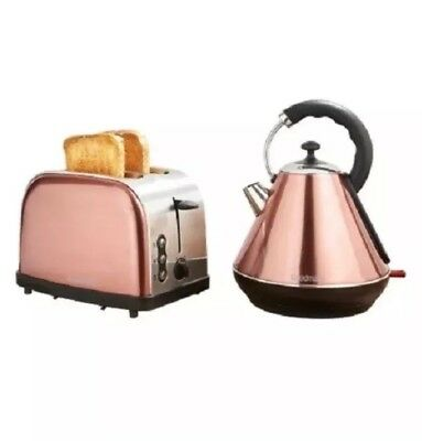 Goodmans Copper Kettle & Toaster Breakfast Set Original And High Quality