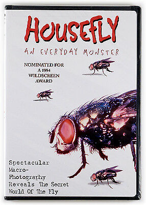 Housefly: An Everyday Monster ◉ (DVD) (New) (Sealed) (2001)