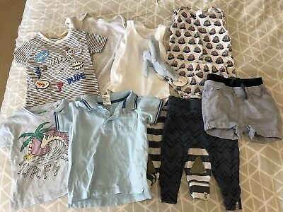 Baby Boy Bundle Size 1. Size 12 - 18 Months. Summer Bundle