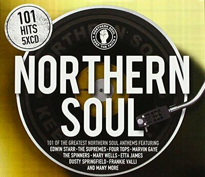 Various Artists - 101 Northern Soul - Various Artists CD GRVG The Cheap Fast The