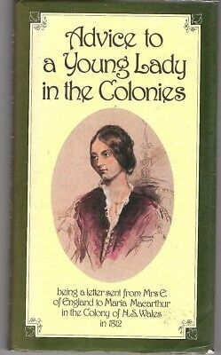 Advice To A Young Lady In The Colonies