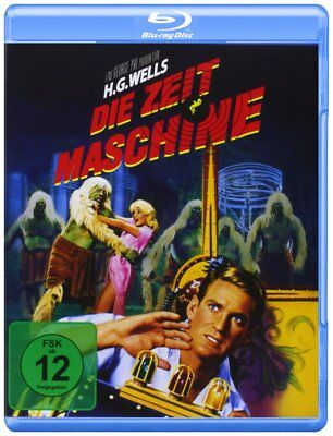 The Time Machine (1960) (H.G.Wells) Rod Taylor * UK Compatible Blu-Ray NEW
