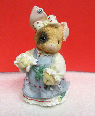 This Little Piggy SOW IN LOVE Pig Enesco TLP Figurine