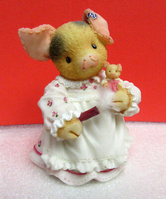 This Little Piggy I'M NOT A DUST COLLECTOR Enesco TLP Pig Figurine
