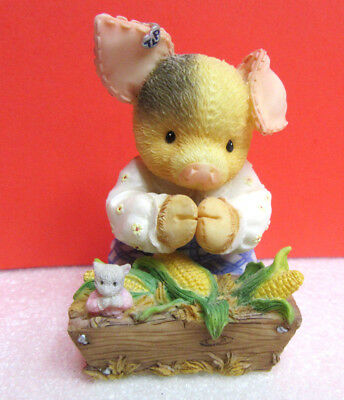 This Little Piggy BLESS THIS MESS TLP Pig Enesco Figurine