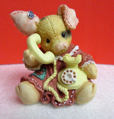 This Little Piggy SOW ARE THINGS WITH YOU? TLP Pig Enesco Figurine
