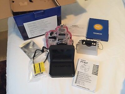 Olympus PT-037 Underwater housing - Used Excellent Condition