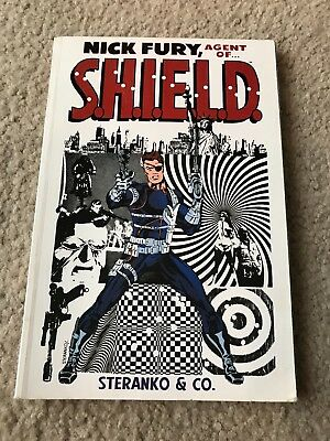 nick fury, agent of shield by steranko & co