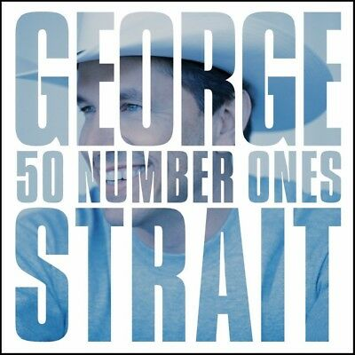 George Strait (2 Cd) 50 #1's Number Ones ~ Greatest Hits / Best Of *new*