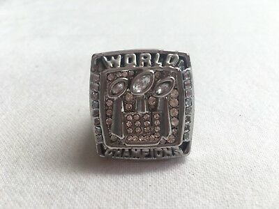 2007 Super Bowl New York Giants World Champions Ring Replica Gridiron Jewellery