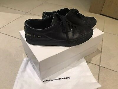 aeae974362fe WOMAN BY COMMON Projects Original Achilles Low Top Sneakers Black EUR 35  Box -  125.00