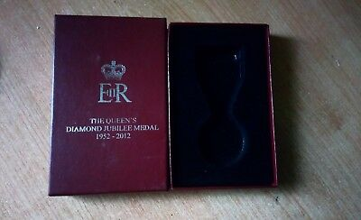 Official Queen's Diamond Jubilee medal box