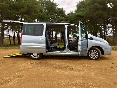 Wheelchair Disabled Car Scooter WAV 2008 Fiat Scudo Panorama 2.0 M-Jet *Extras*