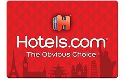 Hotels.com Gift Cards 50$ USD for over 200,000 places to stay worldwide