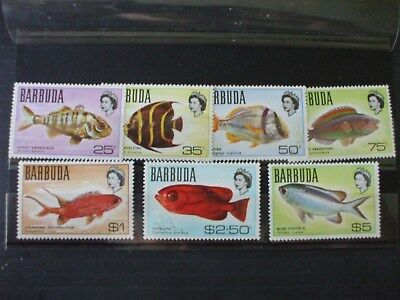 BARBUDA..1968 General Issue Higher Values Part Set of 7vs MNH Cat 7.70 (1A1)