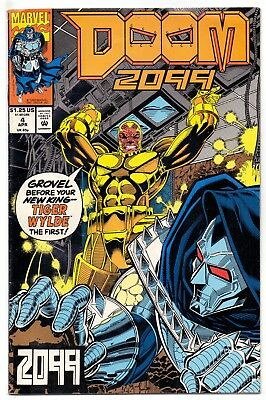 Doom 2099  #  4  Vf- /vf 1993  American D.c  Comic   Very Clean