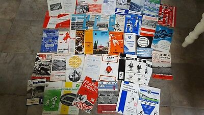 Collection of 1960's Football Programmes x 40 - Mixed