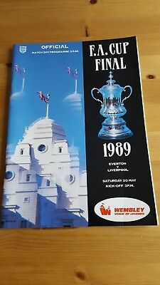 FA Cup Final 1989 Everton V Liverpool - VG/Excellent condition