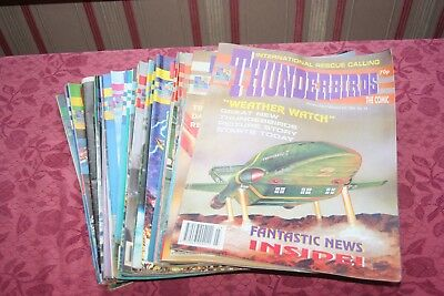 THUNDERBIRDS magazines Issues 1-40 Dated 19/10/1991-30/4/1993 Gerry Anderson