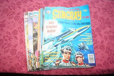 STINGRAY magazines Issues 1-15 Gerry Anderson