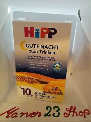 HiPP Good night Organic milk cereal meal for drinking,free shipping Worldwide