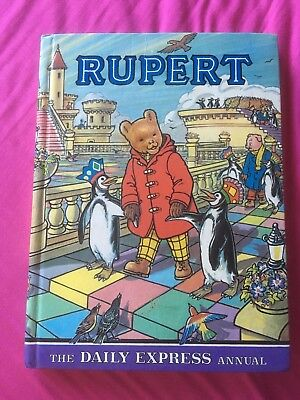 Rupert Annual 1977 (Cubie Illustrations) *** VG Condition ***