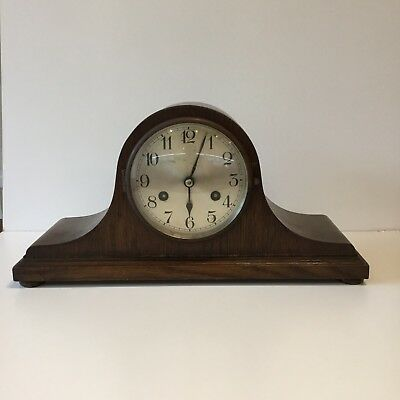 Vintage Westminster Chime Kienzle  Mantle Clock, Key & Weight ( Overwound )