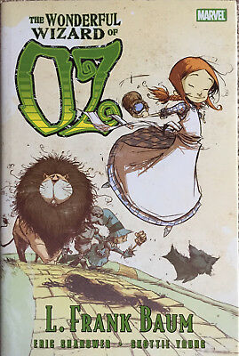 THE WONDERFUL WIZARD OF OZ  & THE MARVELOUS LAND OF OZ Skottie Young hardcovers