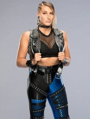 Rhea Ripley Wrestling Diva WWE Wrestler 10x8 Inch Poster Picture Print
