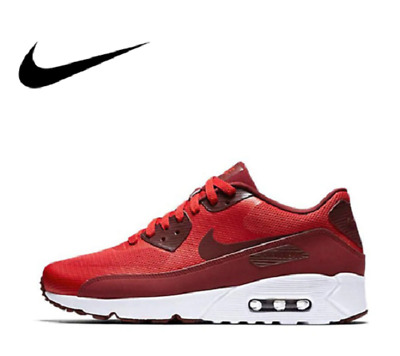 New Official Nike Air Max 90 Ultra 2.0 875695-600 Men's Breathable Running Shoes