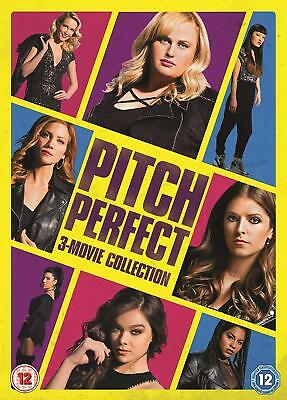 Pitch Perfect 3-Movie [2018] New DVD Box Set / Free Delivery