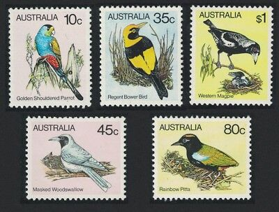 SALE Australia Birds 5v issue 1980 MNH SG#734=740 FREE POSTAGE