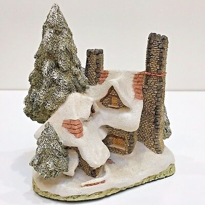 David Winter SNOW COTTAGE Building Handcrafted Signed 1984 Hines Studio England