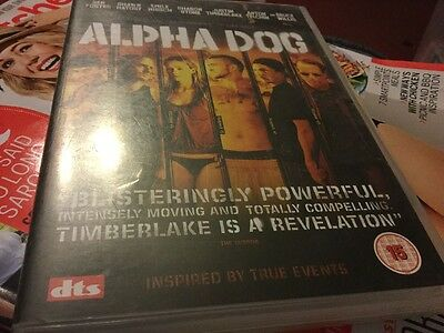 Alpha Dog DVD, Great Condition