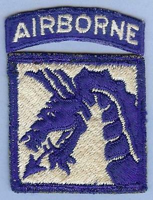 US Army WWII 18th Airborne Corps Patch and Tab