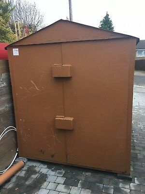 Ultimate High Security Steel Metal Shed Shipping Container grade