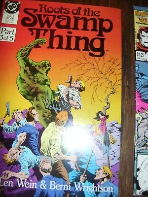 Roots of the Swamp thing Part 3 of 5 September 1986
