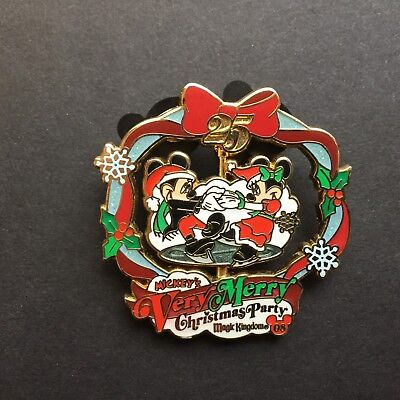 WDW Mickey's Very Merry Christmas Party 2008 Mickey & Minnie Disney Pin 66339
