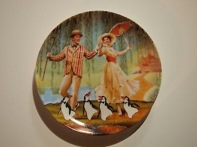 "Walt Disney Knowles Mary Poppins ""A Jolly Holiday With Mary"" Collectible Plate"