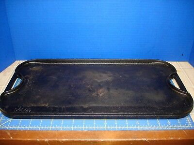Griddle Lodge Pro Grid Cast Iron Excellent Gently Used Well Kept Griddle