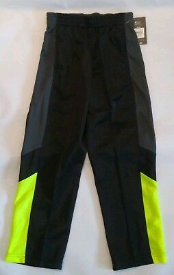 Athletic Works Boys Tricot Active Pant Size M 8 black yellow