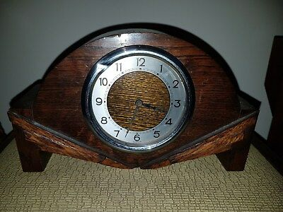 small art deco mantle clock spares or repairs