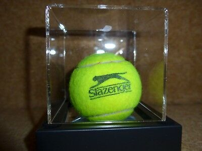 LONDON 2012 TENNIS BALL - MENS DOUBLES GOLD MEDAL MATCH (in case)
